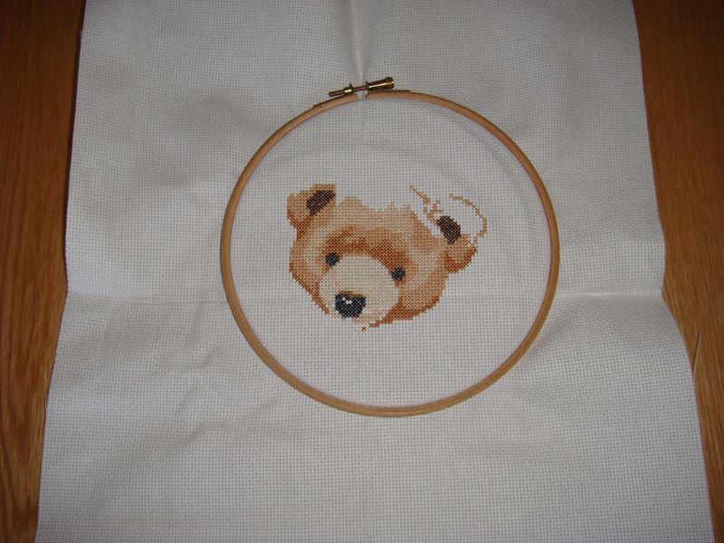 Cross stitch sampler 1 week 001